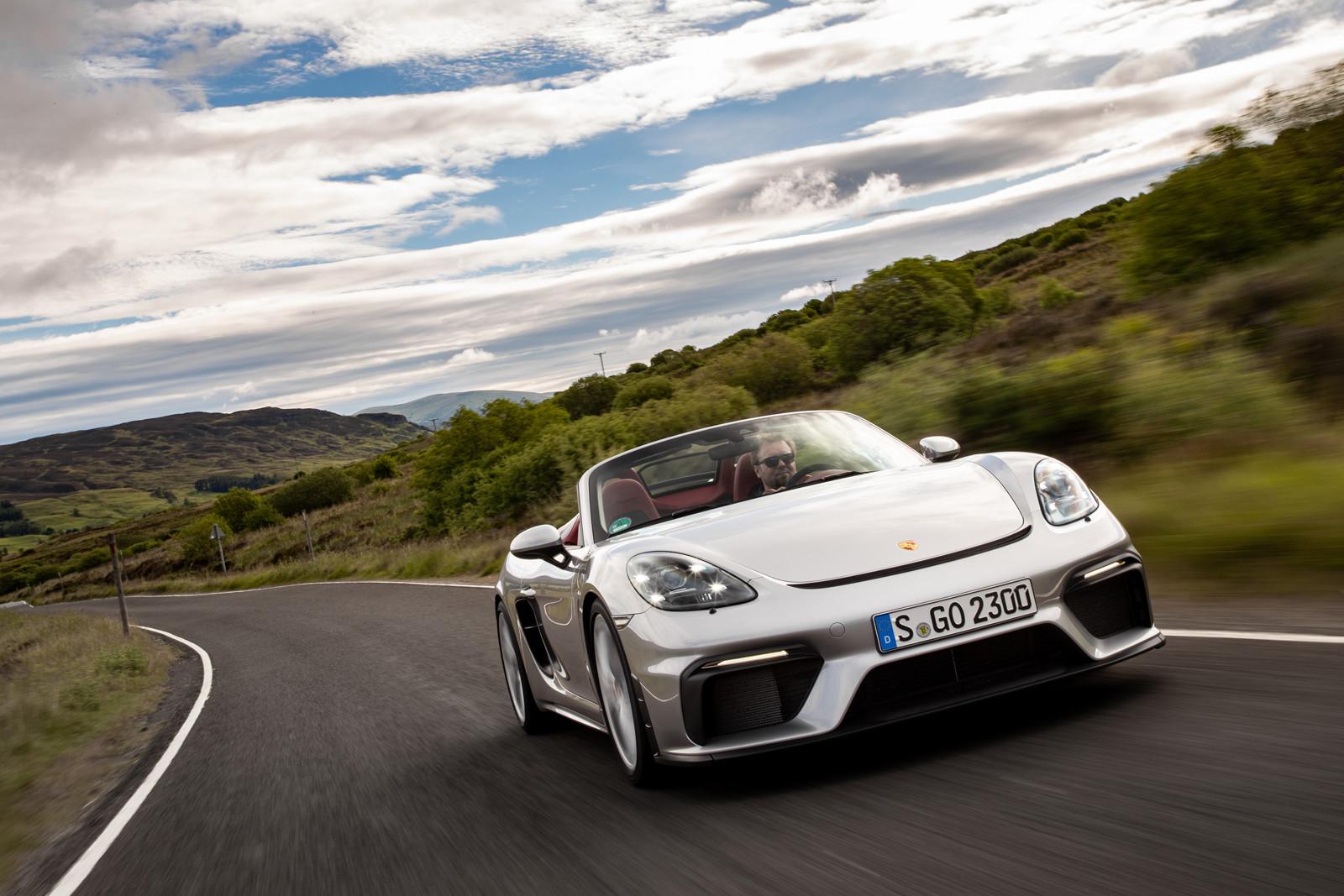 Foto de Porsche 718 Spyder (prueba contacto) (140/296)
