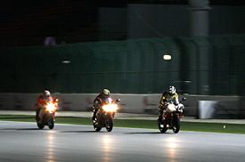 Qatar será la primera carrera nocturna de MotoGP