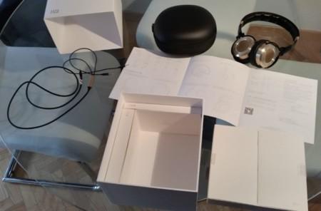 Detalle del empaquetado de los Mi Headphones