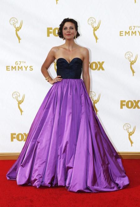 Maggie Gyllenhaal Emmys 2015 2