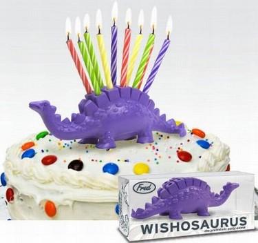 Dinosaurio para la tarta de cumpleaños