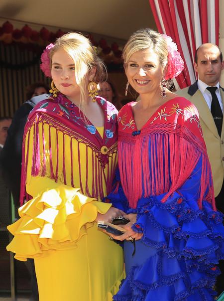 Guillermo Y Maxima De Holanda Feria De Abril 3