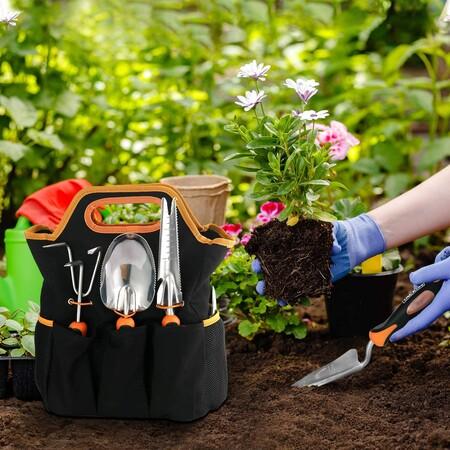 Ofertas en herramientas y accesorios de jardín con azuelas, cortacéspedes o jardineras en Amazon