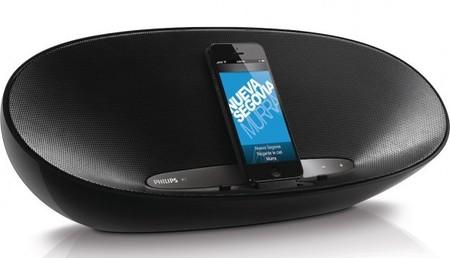 DS8400, la nueva base para iPhone de Philips con forma ovoide