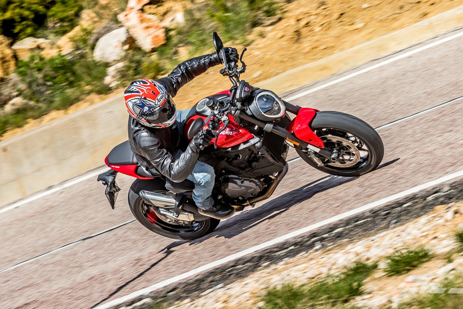 Foto de Ducati Monster 2021, prueba (34/38)