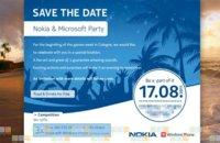 Microsoft y Nokia celebrarán un evento conjunto el próximo 17 de agosto