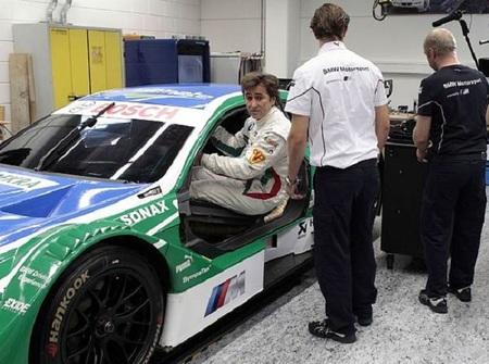 Alex Zanardi probará el BMW M3 del DTM en Nürburgring