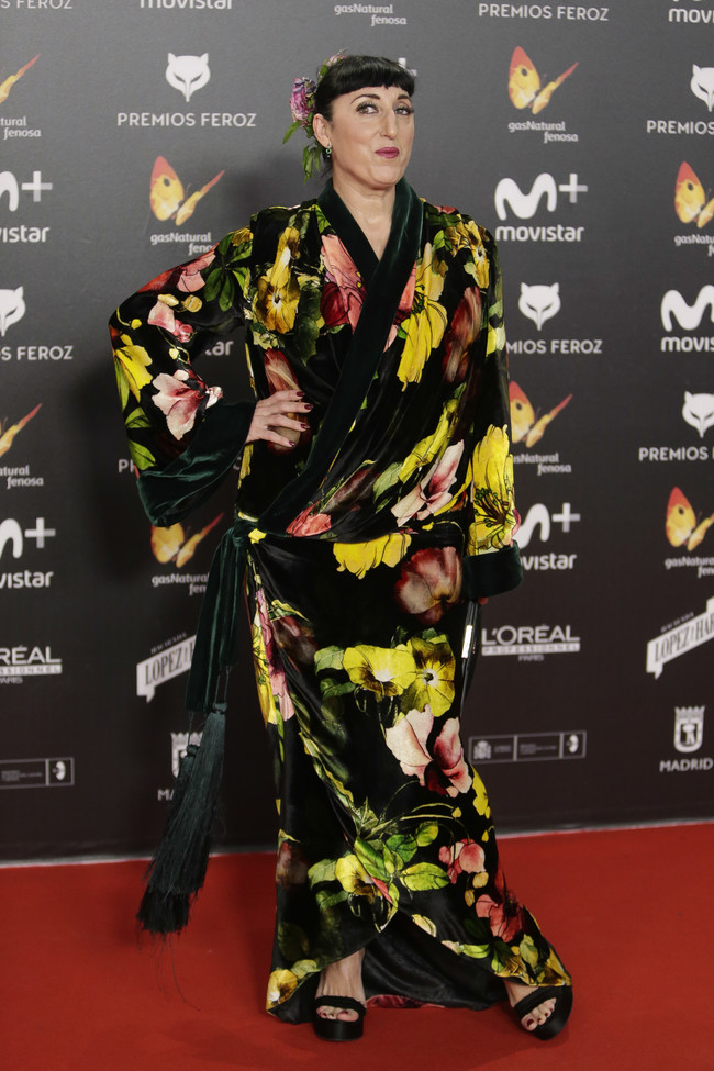 premios feroz alfombra roja look estilismo outfit Rossy de Palma