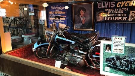 La última moto de Elvis Presley fue una Harley-Davidson de 1976 que se va a subastar desde 100.000 euros