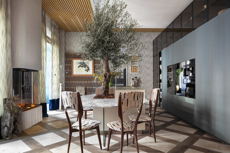 De paseo por Gaia, la espectacular cocina diseñada por As Interiorista para Casa Decor 2020