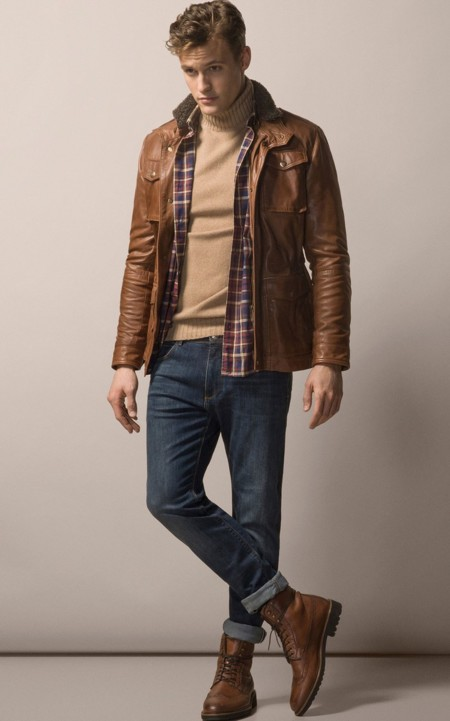 Clon De La Semana Tom Ford Massimo Dutti Leather Jacket 2