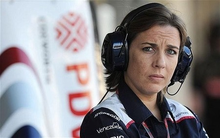 Claire Williams toma las riendas del equipo familiar