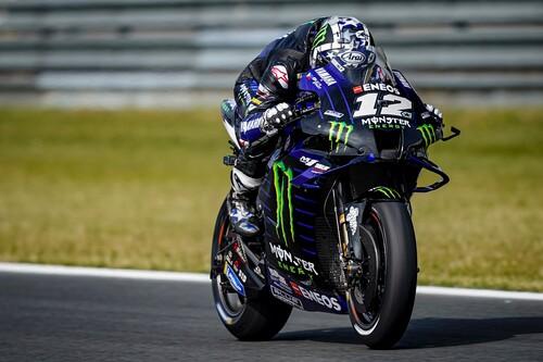 Maverick Viñales da un golpe sobre la mesa con récord incluido en la peor clasificación de Marc Márquez en MotoGP