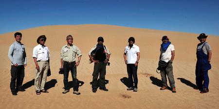 Team ACP Toyota en el Sahara