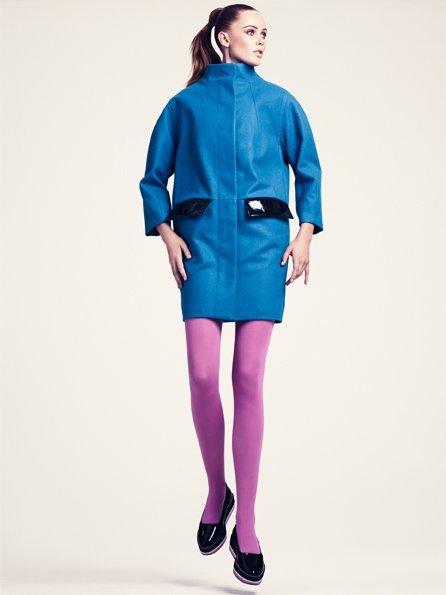 HM abrigo lookbook otoño