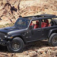 Jeep Wrangler Rubicon 392 Concept, 40 años después, el legendario todoterreno vuelve a tener un corazón V8