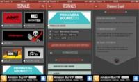 Festivales, toda la información de los festivales de música de la península ibérica en una sola aplicación