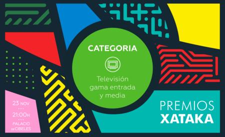 Mejor televisor de gama de entrada y gama media: vota en los Premios Xataka 2017