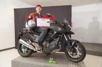 Roger Perejoan, coronado conductor más seguro de España en el concurso El Motorista del Año