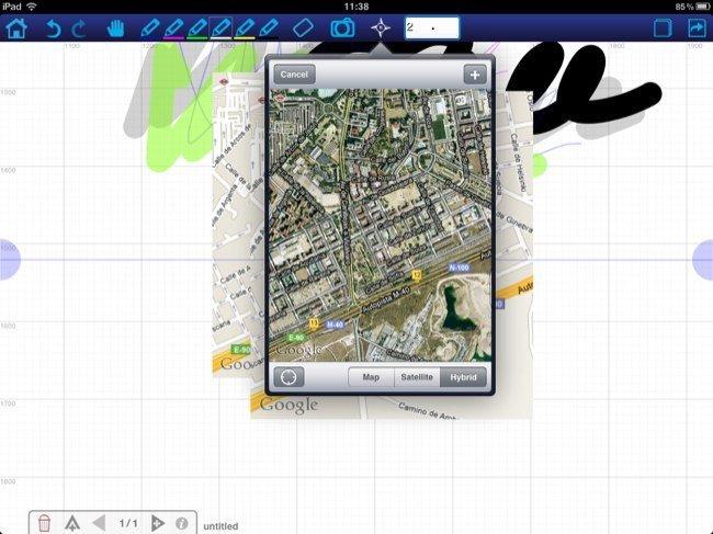 Inserción de mapas en neu.Notes
