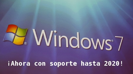 Microsoft extiende el soporte de Windows 7 hasta 2020