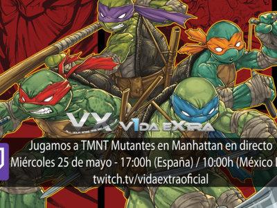 Jugamos a TMNT Mutantes en Manhattan a partir de las 17:00h (finalizado)