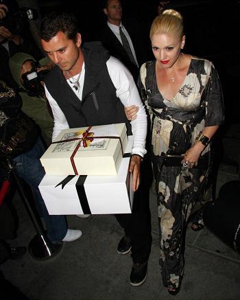 El look de Gwen Stefani en la fiesta de Victoria Beckham