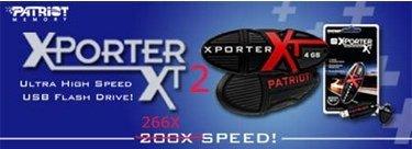 Discos USB Patriot X-Porter ultrarápidos