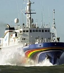 Barco Esperanza de Greenpeace