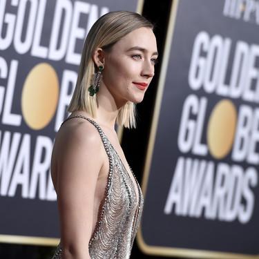 Globos de Oro 2019: Saoirse Ronan es una sirena vestida de Gucci