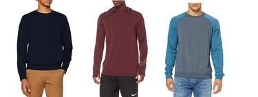 Chollos en tallas sueltas de camisetas, jerseys y sudaderas de marcas como Jack & Jones, Nike, Levi's o Hurley en Amazon