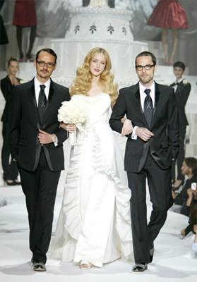 Viktor & Rolf diseña un vestido de novia para H&M