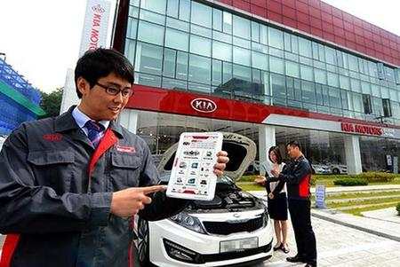 El diagnóstico de los Hyundai y Kia será más fácil con una tableta