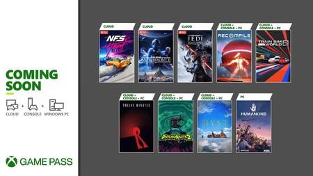 Star Wars Jedi: Fallen Order y Humankind entre los juegos que llegarán a Xbox Game Pass durante la segunda quincena de agosto