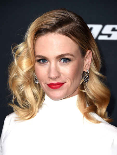 celebrities rubio pelirrojo melena cabello pelo January Jones