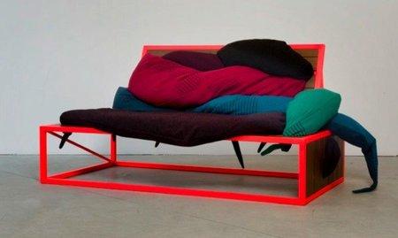 Sofá de diseño juvenil y divertido