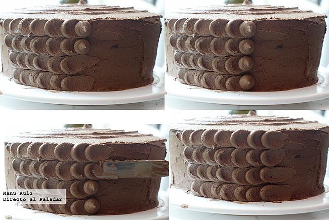 tarta de chocolate paso a paso