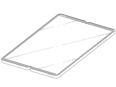 Dos modelos de móviles plegables presentó LG en una nueva patente
