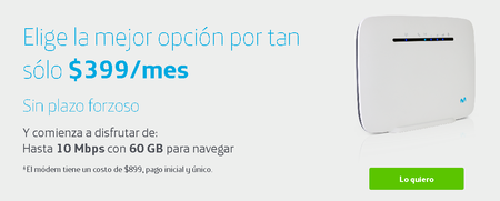 Telefonica Movistar Full Conection Internet Domestico Mexico