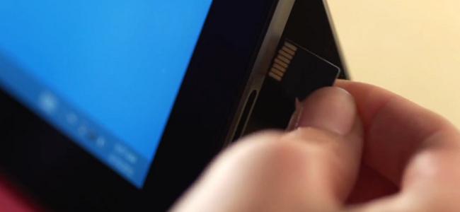 Surface microSD