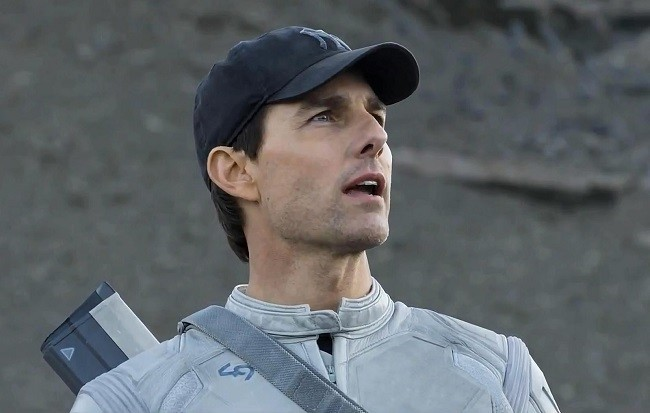 El actor Tom Cruise en 'Oblivion'