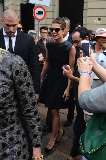 Carlota Casiraghi en la Semana de la Moda de Milán, ¿nos inspiramos en sus looks?