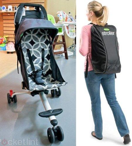 The Original QuickSmart Backpack Stroller, el cochecito que se hace mochila