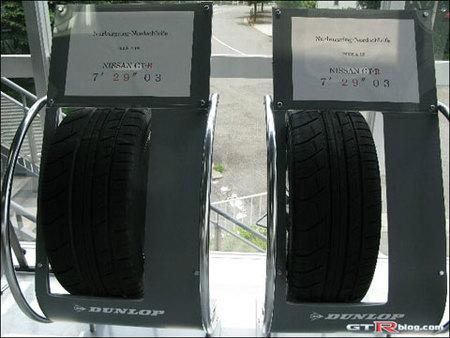 Nissan responde con fotos de los neumáticos del Nissan GT-R