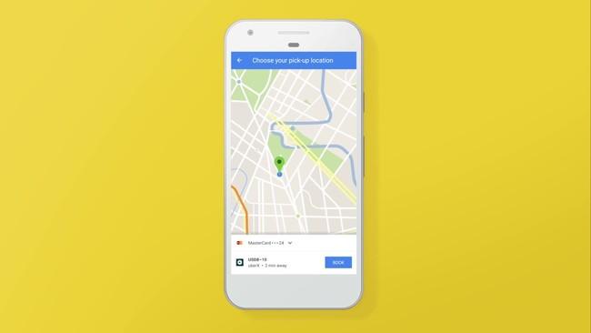 Google Maps añade integración nativa de Uber en su versión 9.43.2