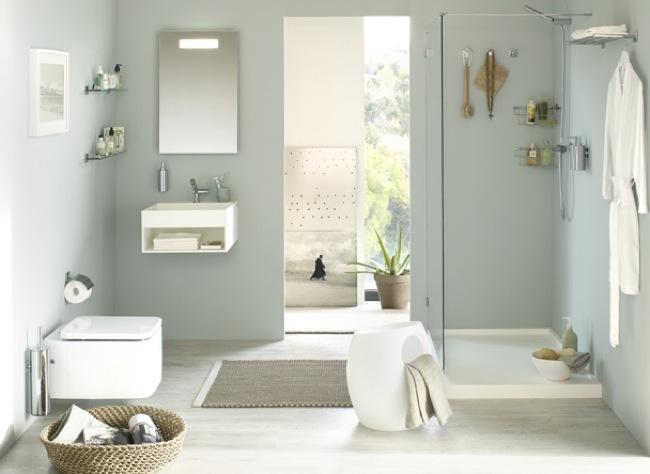 Foto de Accesorios adhesivos para el baño, para los que odian hacer agujeros (1/6)