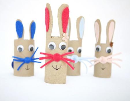 Nueve manualidades, sencillas y decorativas para Pascua, que puedes hacer reciclando cartón