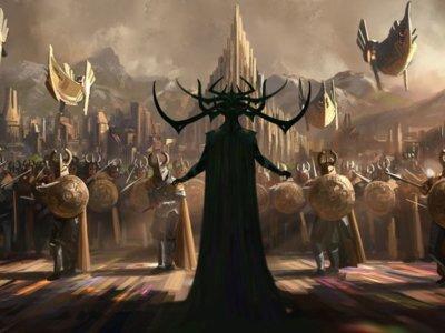 'Thor: Ragnarok', reparto oficial (¡Jeff Goldblum!) y primera imagen de arte conceptual