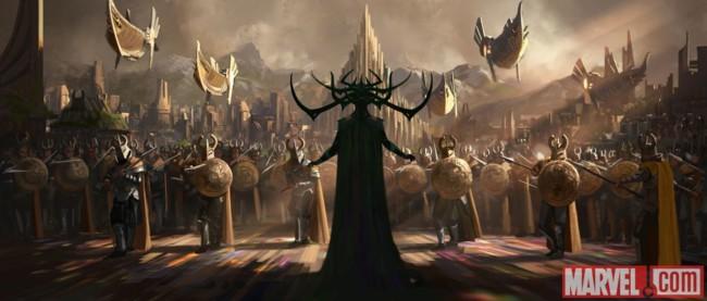 Primera imagen oficial de Thor: Rangarok