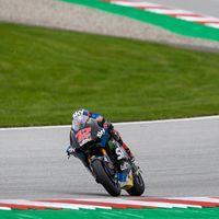Marco Bezzecchi marca el mejor tiempo de Moto2 y Jorge Martín exhibe ritmo de carrera